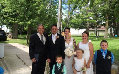 Congrats to Mr. and Mrs Jason and Jessica Smazal!